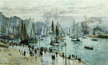Le Havre Port Monet